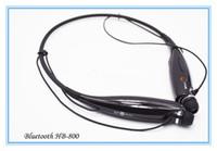 Cheap HB800 HB-800 headphones Wireless Bluetooth Stereo Headset Earphone Music Sport Neckband HBS 700 730 740 Universal For Smartphone tatar