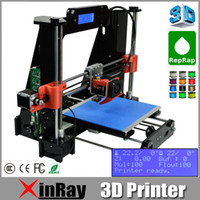 Wholesale Brand New Reprap D Printer Prusa i3 desktop Printer D DIY KIT Acrylic Framework With Screen D Printer Offline Print DP803