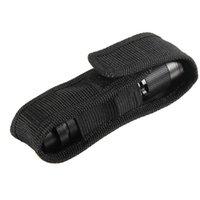 Wholesale Nylon Holster Holder Case Belt Magic Tape Pouch for LED Flashlight Torch