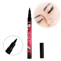 Cheap Fashion Women Makeup Black Eyeliner Waterproof Liquid Eye Liner Pencil Pen Make Up Beauty Comestics Hot