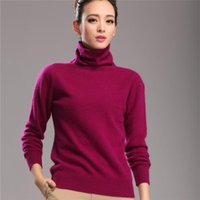 100 cashmere sweater - Pure Mink Cashmere Sweater for Women s Freedom Collar of Autumn Winter Style Fashion High quality Mink Cashmere Sweater L069