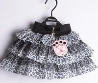 Wholesale 2016 Spring Autumn Kids Toddlers Girls Black white coffee leopard Tulle Dance Skirts girls baby TuTu skirt