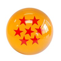 Wholesale DHL Dragon Ball Animation Stars Z Crystal Balls Set of In Diameter With Retail Box Free Factory Price W0186