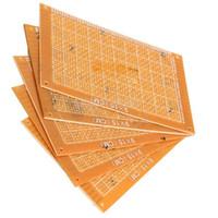 board printing - 5PCS x15cm Prototype Paper Boards PCB Blank Printed Circuit Board DIY gib