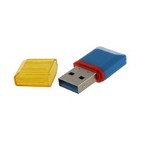 Wholesale Hot New Diamond USB Hi Speed Micro SD SDHC TF Card Reader High Quality