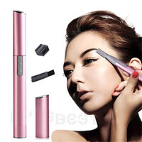 Wholesale Hot Sales Women Lady Electric Shaver Legs Hair Eyebrow Trimmer Shaper Remover Razor Set Beauty T211