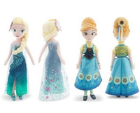 Cheap 2015 new in stock Frozen 2 2015 Fever Stuffed toys Dolls 50cm Elsa & Anna princess toy Plush Dolls Gifts for Children