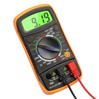 Wholesale New high quality hot sale Digital LCD Multimeter Voltmeter Ammeter AC DC OHM Volt Tester Test Current
