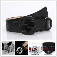 Wholesale 22016 new hip brand buckle G designer belts for men women genuine leather gold cinto belt v Men s