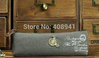 Cheap Free shipping+Wholesale Fashion Vintage Paris Eiffel Tower Linen Coin Purse Pencil Case Zipper Storage Pen Bag,300pcs lot 052121