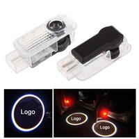 Wholesale Led Car Door Logo Projector For Audi LED Car Door Welcome Light Car Logo light Ghost Shadow Light