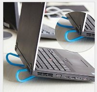 Wholesale New Novelty Portable Plastic Simple Novelty Practical Notebook Laptop Cooling Stand Pad Rack Base Support Cooler