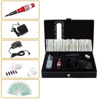 Wholesale CH T Tattoo Machine Kit Permanent Makeup Eyebrow Pen Europe Style Professional Tattoo Kit
