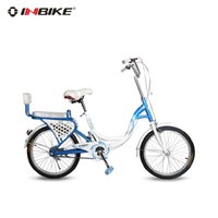 Wholesale INBIKE inch ladies bike commuter car child city recreational cycling men and women of color shells