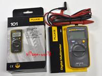 Wholesale NEW Original FLUKE Handheld Digital Multimeter F101 small Pocket Mini V CATIII auto range