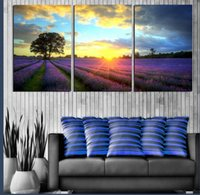 ar love - piece wall art Home Decor Modern Picture natural waterproof scenery love on Canvas Painting Pure hand painted ar