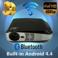 3d projector - Full D Format HD Projector K LED Video TV DLP Beamer lumens x800 P HDMI WIFI