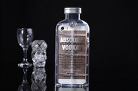 absolut leather - For iPhone SE Plus quot S Inch S G ABSOLUT VODKA Wine Beer Bottle TPU Soft Silicone Clear D Transparent Crystal Cases Skin Cover