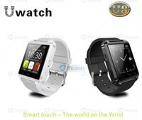 Moins cher montre samsung Avis-2016 moins cher Bluetooth Smart Watch WristWatch U8 U Montre pour Samsung HTC Huawei LG Xiaomi Téléphone Android Appel Appelez Message