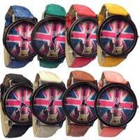 best american watches - Luxury Women Men Fashion Quartz Watch Retro American Flag Best Watches For Male Female Couples Clock