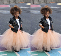 Wholesale 2015 Vintage Tulle Girl Skirts Puffy Pleated Floor Length Tutu Princess Petticoat for Formal Party Dresses