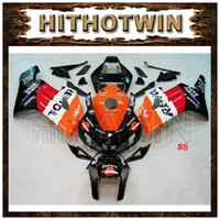 Wholesale ABS Fairing for Honda CBR1000RR CBR RR Motorbike Cowling Repsol Orange Black Bodywork get free Inflator