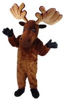 Wholesale New Elk Mascot Costume Fancy Dress Adult Suit Size R117
