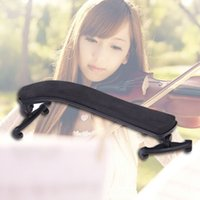 Wholesale Violin Shoulder Rest Fully Adjustable Black Support For Violin Size Violin Parts Accessories