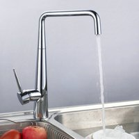 best kitchen sinks - 2016 Best Selling Kitchen Faucet Chromed Polished Brass Basin Mixer Tap Swivel Kitchen Sink Faucets