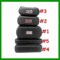 Wholesale Hot Zipper Case For Ego kit Style E Cigarette Pouch Bag Box For Mechanical Mod Ce4 Mt3 Atomizer Evod Ego Cigarette Kit
