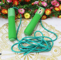 Wholesale New Calorie Digital Jump Jumping Skipping Rope with LCD Timer Count Counter Gym Fitness Sports Game
