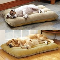 Cheap New 2014 Dog House Soft PP Cotton Pet Beds Free Shipping Dog Products Pet House For Dog Cats Beds Brand Pet House Beds HP155