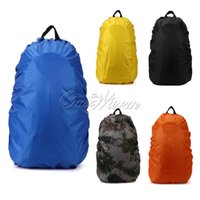 Wholesale Light Backpack Rain Cover Should Bag Dust Waterproof Cover for Outdoor Sports Climbing Hiking Travel Tool L L FYZ