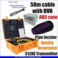 sewer pipe inspection camera - 512HZ Transmitter Pipe Locator SEWER PIPE DRAIN CLEANER INSPECTION SNAKE Video CAMERA W Sonde m Cable With DVR Hz Receiver option
