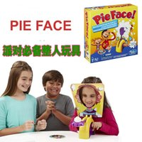 Wholesale Korea Running Man Pie Face Game Pie Face Cream On Her Face Hit The Send Machine Paternity Toy Rocket Catapult Game Consoles EMS