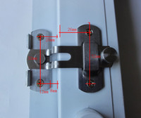 aluminum door latch - Aluminum alloy window lock A window lock Window latch Doors and windows anti theft lock