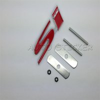 accord sticker - Car Styling D Metal Si Car Front Grille Emblem Sticker Accessories For Honda Accord Fit Civic G7