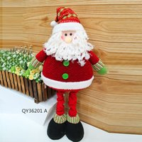 Wholesale Hot Selling Christmas Decorations Figurine For Happy Festival Lovely Standing Doll SHB224