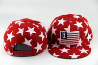 animal garden flags - FASHION AMERICAN NATIONAL FLAGS EMBROIDERED STINGY BRIM HATS MEN WOMEN Knit Hats And Snapback Caps SPRING Winter