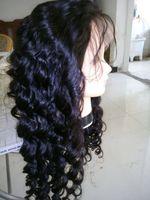 human hair wigs for black women - 100 Peruvian unprocessed Virgin Human Hair Glueless Full lace Wigs Body Wave quot quot inch human wigs for Black Women