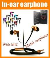 Precio de El bajo piso-Awei ES900i en la oreja los auriculares con micrófono de metal cable plano estéreo bajo estupendo elegante ruido sonido aislamiento de auriculares para el teléfono celular del ipad EAR010