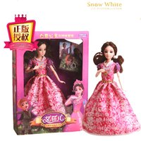 Wholesale 2015 hot movie snow white princess dresses girl favorite gift model cartoon child movie legal copy excellent hot sale