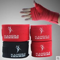 Wholesale 25pcs Cotton gloved hand tied with Muay Thai Boxing bandages bandages boxing Sanda hand brace length cm width cm