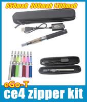 Single Multi Metal Ego CE4 Starter Kit Clearomizer CE4 Vaporizer Pen E Cig Ecig 650mah 900mah 1100mah Ego-t Battery Usb Charger Mutli Color YA0030