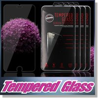 Wholesale For S6 Clear Tempered Glass iPhone Screen Protector MM D Screen Perfect Protection For Iphone S For SamsungGalaxy S5 S4 Note3