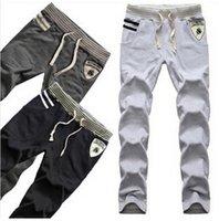 Wholesale Hip Hop sweat pants sports wear pocket Haren pants men trousers leisure pants Hoodies Campus Y007
