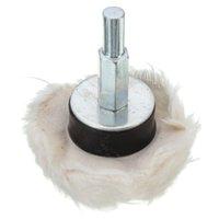 Wholesale Mushroom Buffing Wheels White Fine Weave Cotton Polishing Cloth Buffer