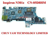 Wholesale Original D8HM motherboard For DELL Inspiron N301z Laptop Notebook PC CN D8HM D8HM system board Tested Days Warranty