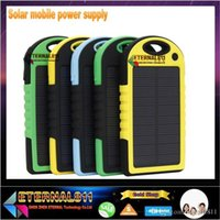 battery pack power supply - 2016NEW Mobile power supply mAH Energy saving Solar Charger Port External Battery Pack Power Bank For Cellphone Used for iPhone