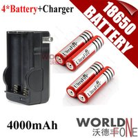 Wholesale Ultrafire Battery mAh V Rechargeable Battery Charger Sets WF RB020 Worldfone
